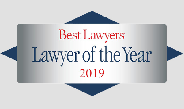 Best lawyers Laywer of the year 2019